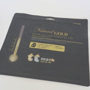 Гідрогелева маска з золотом. Anskin Natural Gold Hydro Essence Mask. 70g